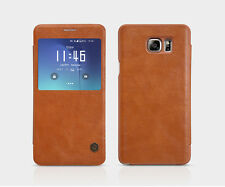 NILLKIN Qin Series S-View Leather Flip Cover for Samsung Galaxy Note 5