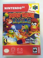 Diddy Kong Racing - Nintendo 64 - Replacement Case - No Game