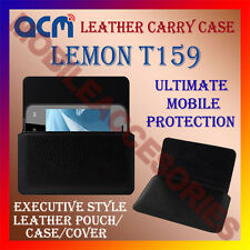ACM-HORIZONTAL LEATHER CARRY CASE for LEMON T159 MOBILE POUCH COVER HOLDER NEW