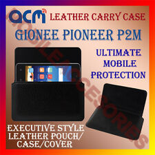 ACM-HORIZONTAL LEATHER CARRY CASE for GIONEE PIONEER P2M MOBILE POUCH COVER NEW