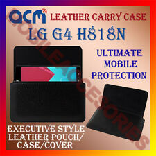 ACM-HORIZONTAL LEATHER CARRY CASE for LG G4 H818N MOBILE COVER HOLDER POUCH NEW