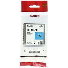 GENUINE ORIGINAL CANON PFI-106PC PHOTO CYAN INK CARTRIDGE (6625B001AA)