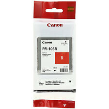 GENUINE ORIGINAL CANON PFI-106R RED INK CARTRIDGE (6627B001AA)