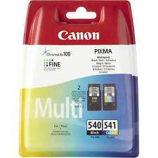 GENUINE CANON PG-540 CL-541 BLACK & COLOUR INK CARTRIDGES MULTI PACK (5225B006)