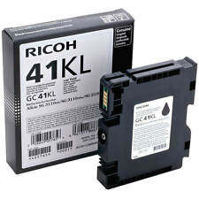 GENUINE ORIGINAL RICOH 405765 LOW YIELD BLACK GEL INK CARTRIDGE (GC41KL)