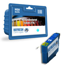 REMANUFACTURED 27XL (NON GENUINE) HIGH CAPACITY CYAN INK CARTRIDGE FOR EPSON