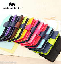 Authentic Mercury Fancy Dairy Flip Book Cover Case For Sony Xperia M2