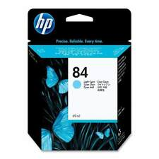 GENUINE OEM HP HEWLETT PACKARD LIGHT CYAN INK CARTRIDGE HP84 / C5017A