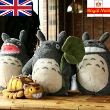 "UK Stock Studio Ghibli My Neighbour Totoro Large Plush Toy Doll 15"" Cat Bus 11"""