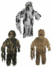camuflaje GHILLIE SUIT Caza Paintball Carnaval Revestimiento BW