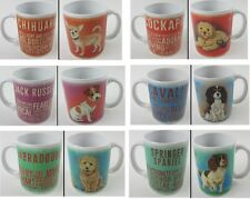 Dog Mugs Gift Present Jack Russell, Pug, Cockapoo, Spaniel & Labradoodle