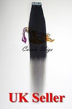 Best Quality 20'' Russian Tape-In 100% Premier Remy Human Hair Extensions UK 1st