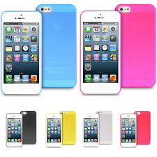 Ultra Slim Thin Hard Back Matte Case Cover for Apple iPhone Models
