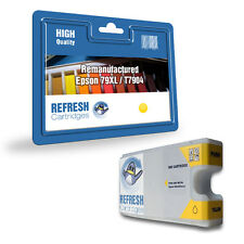 REMANUFACTURED (NON GENUINE) YELLOW 79XL HIGH CAPACITY INK CARTRIDGE FOR EPSON
