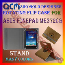 ACM-DESIGNER ROTATING 360° FLIP STAND COVER CASE for ASUS FONEPAD ME372CG TABLET