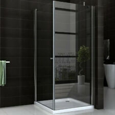 "SC CABINE DE DOUCHE EASY SPACE ""N"" 80/90x190CM EASY CLEAN CRISTAL CLARO 6MM TRAN"