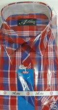 Gents Formal Shirt Blue Green  Checked* New Diwali Collection (SH39)