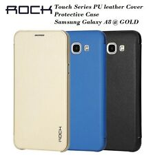 ROCK Touch Series PU leather Cover Protective Case Samsung Galaxy A8