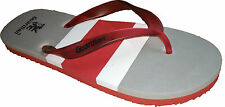 Guardian Men's Rubber Flip Flops/Slippers in Red Color Available in all size
