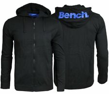 Bench Full Zip Sweat Hoody Black Herren Sweat-Jacke mit Kapuze S-M-L-XL NEU