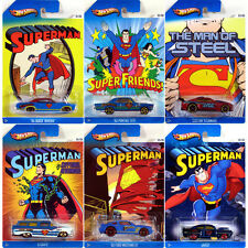 HOT WHEELS SPECIAL EDITION SUPERMAN / MAN OF STEEL CARS / COLLECTORS EDITIONS