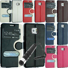 NEW LEATHER WALLET FLIP POUCH COVER CASE STAND FOR SAMSUNG GALAXY S6 EDGE