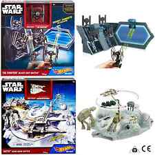 Hot Wheels Star Wars Tie Fighter and Hoth Battle Playsets Age 4+ Years
