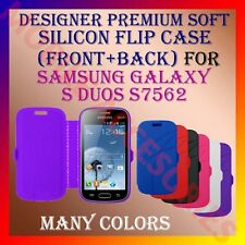 ACM-DESIGNER PREMIUM SILICON SOFT FLIP CASE of SAMSUNG GALAXY S DUOS S7582 S7562