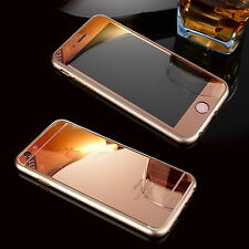 ROSE GOLD TEMPERED GLASS SCREEN PROTECTOR FOR APPLE IPHONE 4/4S 5/5S 6/6S 6 PLUS
