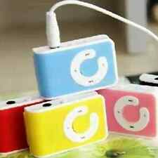 5Colors Mini Clip USB MP3 Music Player Support 1-16GB Micro Memory SD TF Cards