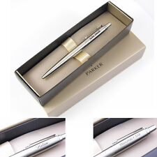 Personalised Engraved Parker Jotter Stainless Steel & Chrome Trim Ballpoint Pen