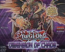 YuGiOh DIMENSION OF CHAOS DOCS SECRET, GHOST, ULTIMATE, ULTRA, SUPER, RARE CARDS