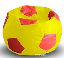 DAYORG Football Bean Bag Filled -Size XXL-This is Filled Bean Bag -Home Delivery