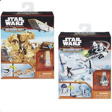 STAR WARS THE FORCE AWAKENS MICROMACHINES BATTLE PLAY SETS / AGE 4+