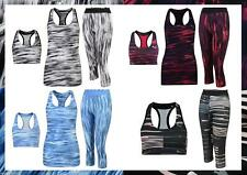 PUMA LADIES WOMENS FITNESS LEGGINGS BRALET VEST GRAPHIC PRINT YOGA GYM TRAINING