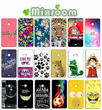CUSTODIA COVER CASE MORBIDA IN SILICONE TPU PER NOKIA LUMIA 625 N625 FANTASIA  E