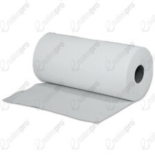 "Hygiene couch rolls wipes WHITE 24cm 9.5"" 2ply Singles / multi buys Fine Touch"