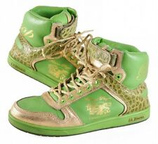 Emerica Skateboard / Hip Hop Schuhe McNally The Bishop Green/Gold - Sneaker