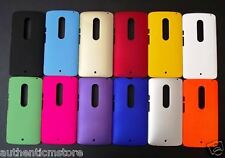 MOTOROLA MOTO X Style Premium Rubberized Hard Back Case Cover in Matte Finish