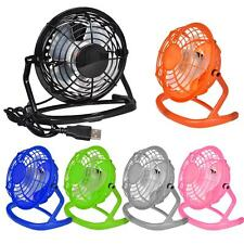 Mini 360° USB Cooler Fan Ventilator Lüfter Tischventilator PC Laptop Computer DE
