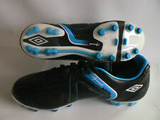 Umbro Speciali 3 Pro - A HG Football Boot  Black Leather Size 6 Size 6.5  NEW
