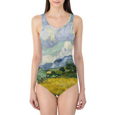 Vincent Van Gogh Fine Art Painting Women's Swimsuit XS-5XL One Piece with Remova