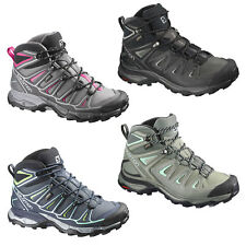 Salomon X Ultra Mid 2 GTX GoreTex Trail Hiking Outdoor Damen-Wanderschuhe NEU