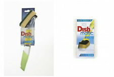 Dishmatic Handle, scourer and spare non scratch scourer Refills. Ecofriendly