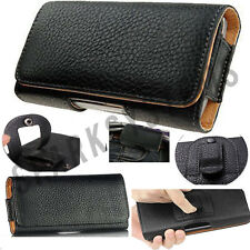 PU Leather Belt Pouchs cover case for Phone PDA MP3 iPod Belp loop Clip case