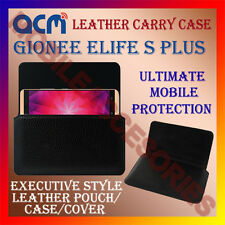 ACM-HORIZONTAL LEATHER CARRY CASE for GIONEE ELIFE S PLUS MOBILE COVER HOLDER