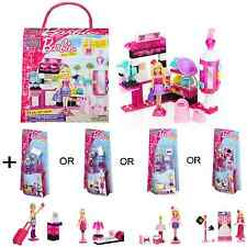 Mega Bloks Barbie Build 'n' Style Fashion Stand + Extra Mini-Figure age 4+ Years