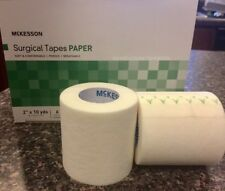 """McKesson PAPER Surgical Tape 2"""" x 10 yds - 1, 2, 4, or 6 Rolls/box - #16-47320"""