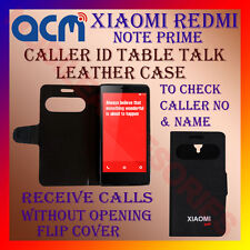 ACM-CALLER ID TABLE TALK CASE for XIAOMI REDMI NOTE PRIME MOBILE FLAP FLIP COVER