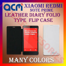 ACM-LEATHER DIARY FOLIO FLIP CASE for XIAOMI REDMI NOTE PRIME FRONT & BACK COVER